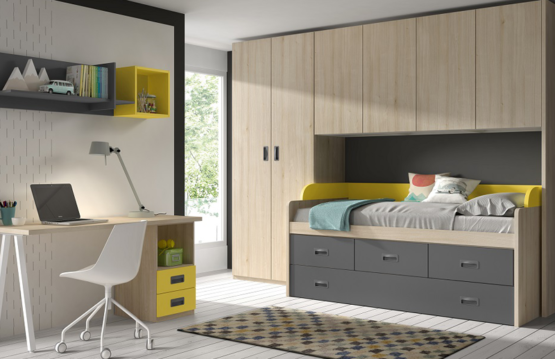 espacios dormitorios juveniles