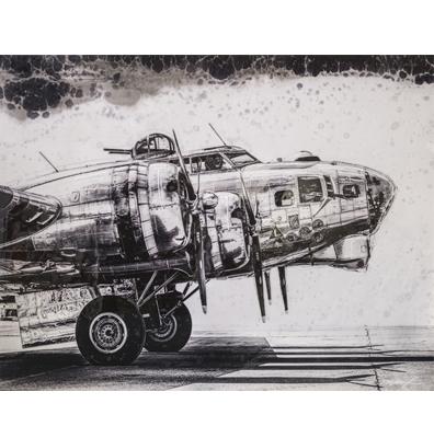 Cuadro Avioneta