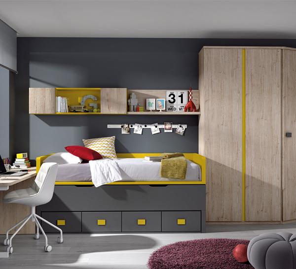 Dormitorio Juvenil ref. J0024