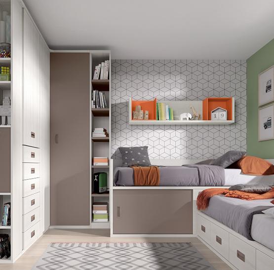 Dormitorio Juvenil ref. J0035