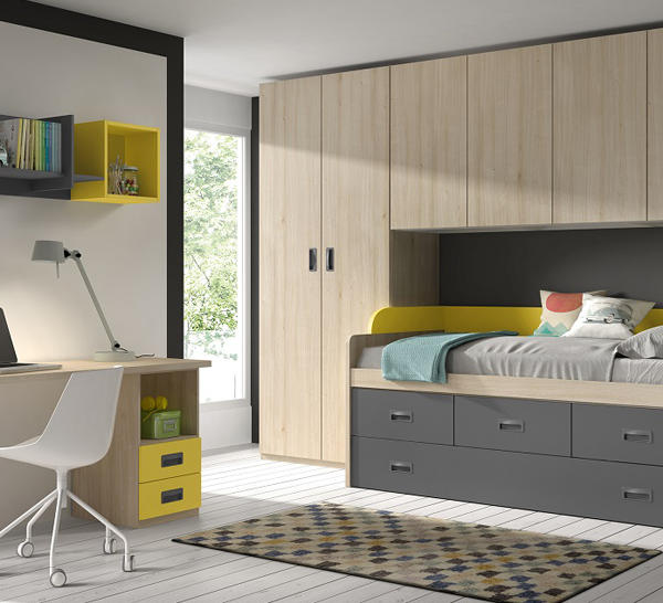 Dormitorio Juvenil ref. J0051