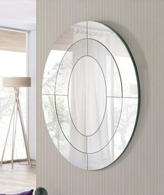 Espejo en forma de Ovalado