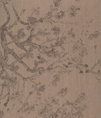 Papel Pintado Decorativo KYOTO MARRON CLARO 204 02