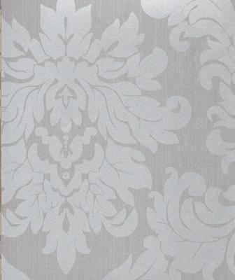 Papel Pintado Decorativo VERSALLES GRIS 201 07