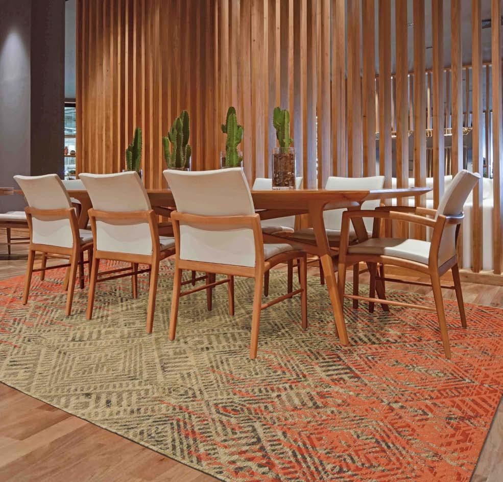 decoración de habitaciones con alfombras