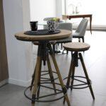 set mesa alta y silla