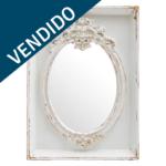 espejo blanco vendido